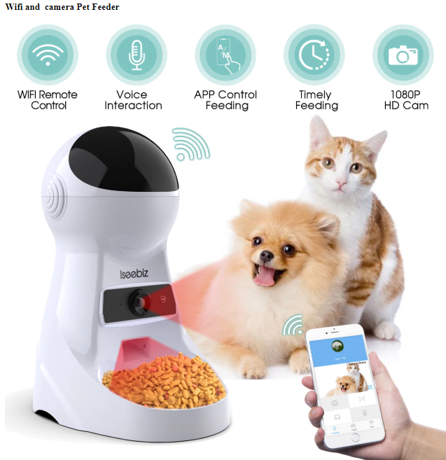 Make sure your pet never goes hungry or lonely with this smart food bowl