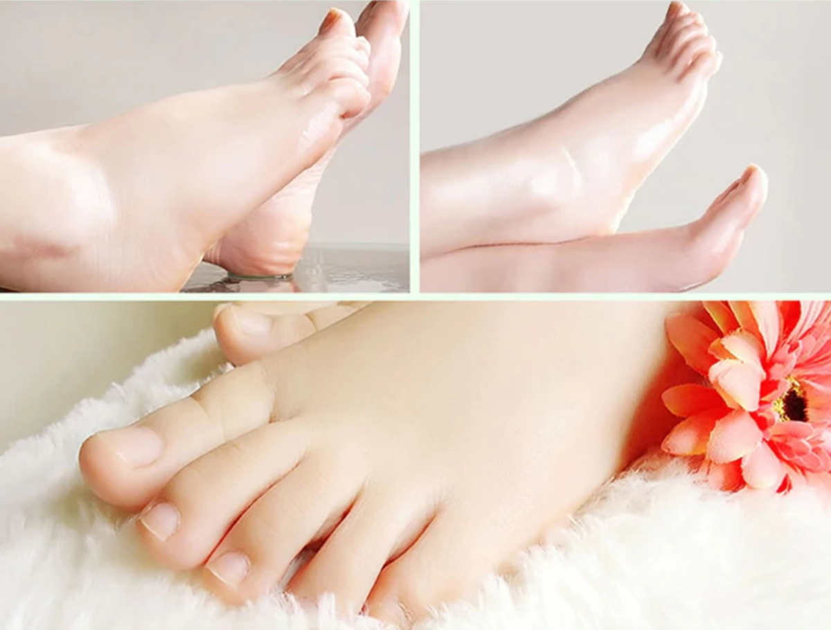 Now you can have baby-smooth feet for the fraction of the price of a pedicure