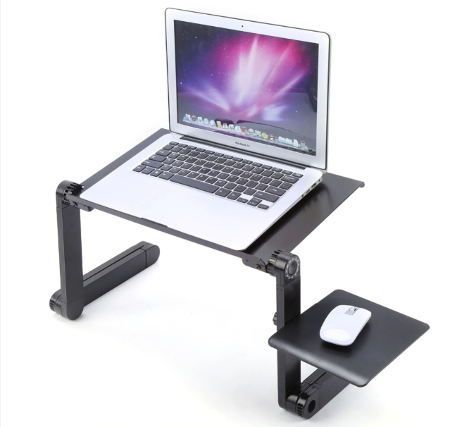 Use your devices comfortably, anywhere, with this portable stand